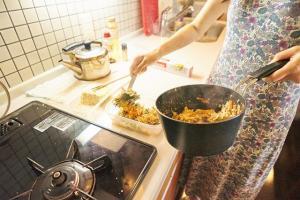 野菜とおからの和え物