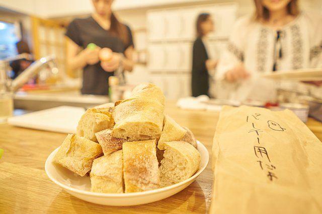 パーテー用に準備されたパン