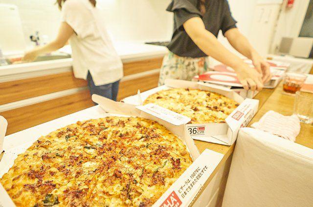 5枚全てのピザが半額、これはお得!
