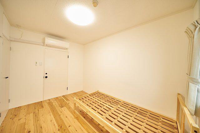 7012号室:すのこベッドは希望の方に無料で付属