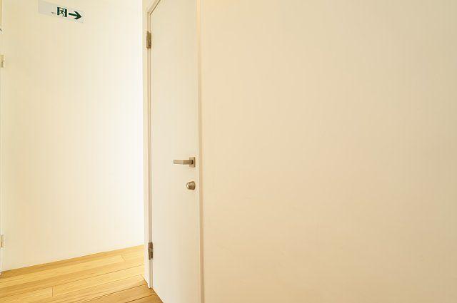 103号室:廊下の様子
